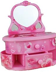 cheap -Music Box Music Jewelry box Heart Plastic Women's Girls' Toy Gift