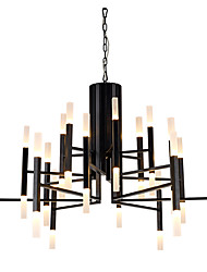 cheap -Ecolight™ 102 cm LED / Designers Chandelier Metal Acrylic Painted Finishes Modern Contemporary 110-120V / 220-240V