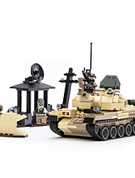 cheap -Model Building Kit Tank Tank ABS Mini Car Vehicles Toys for Party Favor or Kids Birthday Gift / Kid's