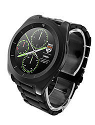 cheap -G6 Men Smartwatch Android iOS Bluetooth Bluetooth4.0 Touch Screen Heart Rate Monitor Hands-Free Calls Pedometers Audio Stopwatch Call Reminder Activity Tracker Sleep Tracker Find My Device / 128MB