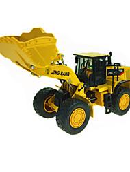 abordables -1h50 Métallique Caoutchouc Véhicule de Construction Chargeur Sur Pneus Camions Véhicules de Construction Petites Voiture Enfant Jouets de voiture
