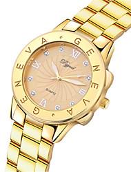 cheap -Women's Fashion Watch Quartz Analog Rose Gold Gold Silver