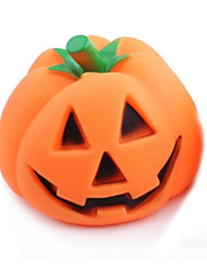 cheap -Squeaking Toy Dog Chew Toys Cat Chew Toys Dog Puppy Pet Toy Squeak / Squeaking Pumpkin Halloween Rubber Gift