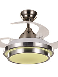 cheap -1-Light Ecolight™ 80 cm LED / Designers Ceiling Fan Metal Acrylic Painted Finishes Modern Contemporary 220-240V
