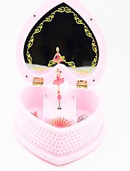 cheap -Music Box Music Jewelry box Heart Plastic Kid's Girls' Toy Gift