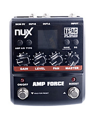 cheap -NUX AMP Force Modeling Amp Simulator Electric Guitar Effect Pedal w/ 3-band EQ