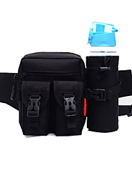 cheap -Fanny Pack Hiking Waist Bag Running Pack for Running Leisure Sports Cycling / Bike Traveling Sports Bag Multifunctional Waterproof Wearable Canvas Running Bag