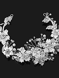 cheap -Pearl / Imitation Pearl / Alloy Tiaras with 1 Wedding / Special Occasion / Outdoor Headpiece