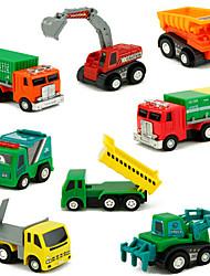 cheap -1:10 Plastic Construction Truck Set Toy Truck Construction Vehicle Toy Car Vehicle Playset Car Toys