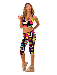 cheap -Women's Running Pants Track Pants Sports Pants Athletic Athleisure Wear Sport Running Exercise & Fitness Comfortable Printing