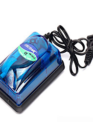 cheap -Aquarium Fish Tank Air Pump Vacuum Cleaner Adjustable Noiseless Non-toxic & Tasteless Plastic 1 pc 110 V