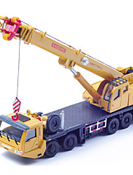 cheap -1:50 Plastic Crane Helicopter Toy Truck Construction Vehicle Toy Car Die-Cast Vehicle Kid's Car Toys