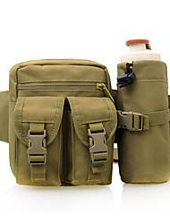 cheap -10 L Waist Bag / Waistpack Multifunctional Waterproof Dust Proof Wearable Outdoor Camping / Hiking Climbing Leisure Sports White Black Yellow