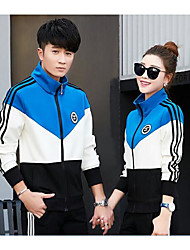 cheap -Women's Tracksuit Streetwear Casual Long Sleeve Exercise & Fitness Sportswear Plus Size Shirt Athleisure Wear Red black Sky Blue Activewear