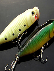cheap -1 pcs Fishing Lures Fishing Tools Pike Sinking Bass Trout Pike Bait Casting Plastic