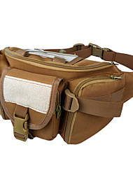 cheap -Fanny Pack Waist Bag / Waist pack Running Pack 15 L for Camping / Hiking Climbing Leisure Sports Sports Bag Multifunctional Waterproof Dust Proof Running Bag