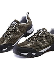 cheap -Men's Sneakers Casual Shoes Mountaineer Shoes Breathable Anti-Slip Anti-Shake / Damping Cushioning Running Hiking Climbing Spring Summer Fall Army Green Green Blue Gray