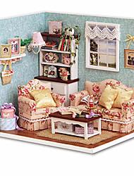 abordables -CUTE ROOM Maison de Poupées Kit de Maquette A Faire Soi-Même Meuble Maison En bois Bois Homme Unisexe Jouet Cadeau
