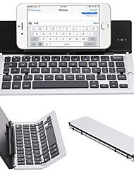 Недорогие -LITBest W01 Беспроводное / Bluetooth Управление клавиатурой Mini Складной 59 pcs Ключи