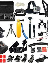 Недорогие -Аксессуары Кит 36 в 1 Многофункциональный Складной Для Экшн камера Gopro 6 Gopro 5 Xiaomi Camera Gopro 4 Gopro 4 Silver Дайвинг Серфинг Катание на лыжах ПВХ неопрен ABS / Спорт DV / SJCAM / SJ6000