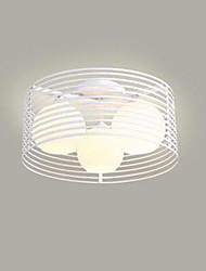 cheap -3-Light 40 cm LED Flush Mount Lights Metal Glass Painted Finishes Modern Contemporary 110-120V 220-240V / E26 / E27