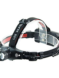 cheap -Headlamps LED Cold White ABS Adjustable Focus Compact Size Super Light Cycling / Bike Fishing Outdoor