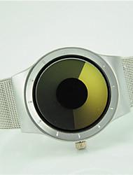 cheap -Women's Wrist Watch Quartz Silver Casual Watch Cool Analog Ladies Fashion - Yellow Fuchsia Blue One Year Battery Life / Tianqiu 377
