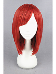 cheap -Synthetic Wig Cosplay Wig Straight Straight Wig Short Red Synthetic Hair Women's Red