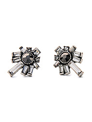 cheap -Women's Crystal Stud Earrings Personalized Euramerican Earrings Jewelry Black For Housewarming Thank You Business