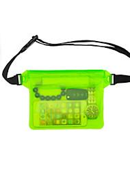 cheap -Running Belt Fanny Pack Waist Bag / Waist pack for Running Leisure Sports Cycling / Bike Traveling Sports Bag Multifunctional Waterproof Rain Waterproof Plastic Canvas Nylon Running Bag / iPhone X