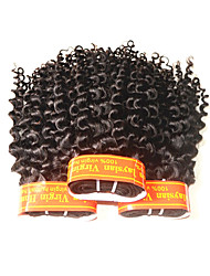 cheap -Human Hair Remy Weaves Curly Malaysian Hair 300 g 1 Year