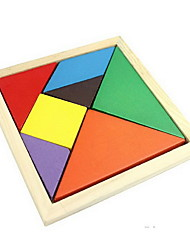 cheap -Tangram Wooden Puzzle DIY Wood Boys' Girls' Toy Gift