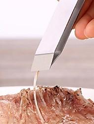 voordelige -Roestvast staal Tong Creative Kitchen Gadget Keukengerei Hulpmiddelen voor Fish 1pc