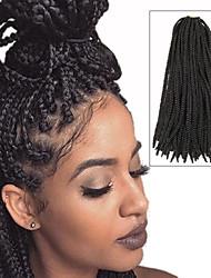 cheap -Faux Locs Dreadlocks Nu Locs Box Braids Natural Black Synthetic Hair Braiding Hair