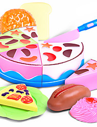 Недорогие -Игрушечная еда Продукты питания Торты Десерт как живой Безопасно для детей пластик Детские Универсальные Игрушки Подарок
