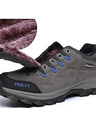 cheap -Men's Sneakers Hiking Shoes Casual Shoes Breathable Anti-Slip Anti-Shake / Damping Cushioning Running Hiking Climbing Winter Brown Purple Army Green Gray