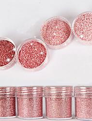 cheap -10ml high flash diamond bright powder superfine powder sequins mixed series nail art decoration for nail polish