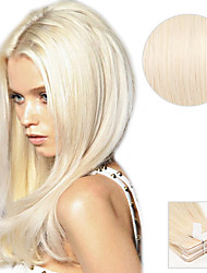cheap -20pcs-tape-in-hair-extensions-platinum-blonde-40g-16inch-20inch-100-human-hair-for-women