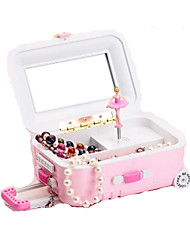 cheap -Music Box Toys Square Plastic Pieces Women's Girls' Gift