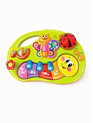 Недорогие -Игрушечные телефоны Обучающая игрушка пластик Детские Универсальные Игрушки Дары