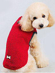 cheap -Cat Dog Sweater Winter Dog Clothes Red Blue Costume Cotton Solid Colored Keep Warm XXS XS S M