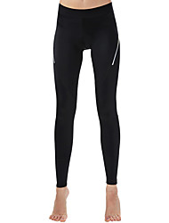 cheap -Women's Running Tights Leggings Athletic Tights Leggings Bottoms Sport Yoga Gym Workout Running Breathable Soft Comfortable Black Solid Colored Sports Fashion / Stretchy