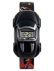 cheap -SKMEI Wrist Watch Digital Watch Digital Silicone Calendar / date / day Creative Cool Digital Fashion - Yellow Red Blue Two Years Battery Life / Maxell626+2025