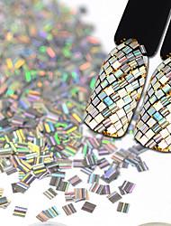 Недорогие -1 pcs Кристаллы 3D маникюр Маникюр педикюр Стиль / Ювелирные изделия / Глянцевые