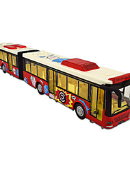 cheap -1:48 Bus Construction Truck Set Plastic Mini Car Vehicles Toys for Party Favor or Kids Birthday Gift