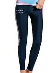 cheap -Dive&Sail Women's Wetsuit Pants Tights Breathable Quick Dry Diving Fashion Spring Summer / Stretchy