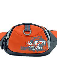 cheap -10 L Waist Bag / Waistpack Multifunctional Waterproof Dust Proof Wearable Outdoor Camping / Hiking Climbing Leisure Sports Black Orange Red