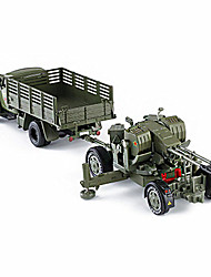 cheap -Toy Car Model Car Truck Military Vehicle Car Truck Simulation Music & Light Unisex Toy Gift