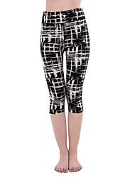 cheap -Women's Running Pants Track Pants Sports Pants Sports Winter Pants / Trousers Yoga Running Exercise & Fitness Badminton Breathable Soft Comfortable Geometic Sports Printing Black Forest Green Orange