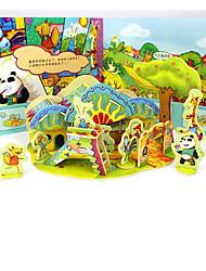 abordables -Puzzles 3D Jeux Avec Pions en Bois Maquettes de Bois Maison Amusement Bois 1 pcs Classique Enfant Jouet Cadeau